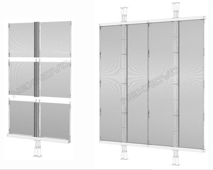transparent led screen